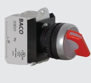 22mm Selector Switch Illuminated Maintained