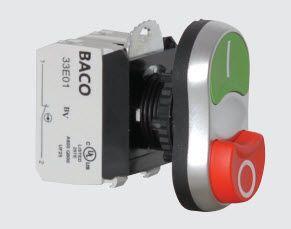 Twin Touch, Flush-Projecting Black L62QB